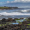 First stop on Road to Hana tour, Ho`okipa Beach Park, famous for surfers and white sand beaches.