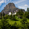 Clements Mountain at Logan's Pass in Glacier National Park in Montana.