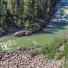 Animas River in the San Juan Mountains in Colorado.