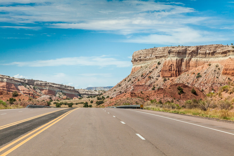 US 550 highway in New Mexico JNB091144