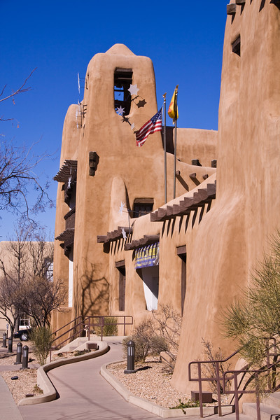 New Mexico Museum of Art at Santa Fe, New Mexico.