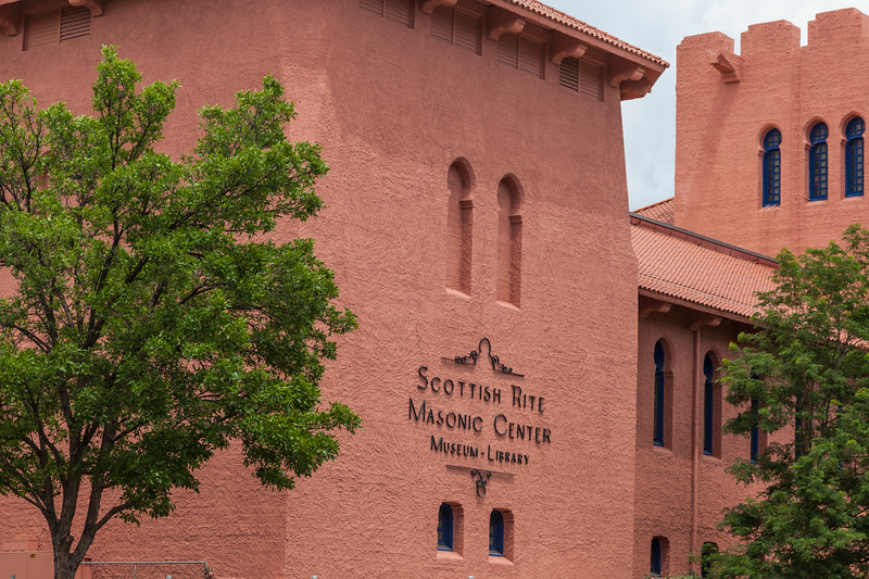 Scottish Rite Masonic Center in Santa Fe.