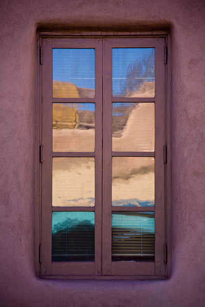 Reflections, Patterns and street scenes in Santa Fe, oldest city and capital city of New Mexico. Santa fe was founded as a capital city in 1610, making it the oldest capital city in the United States.