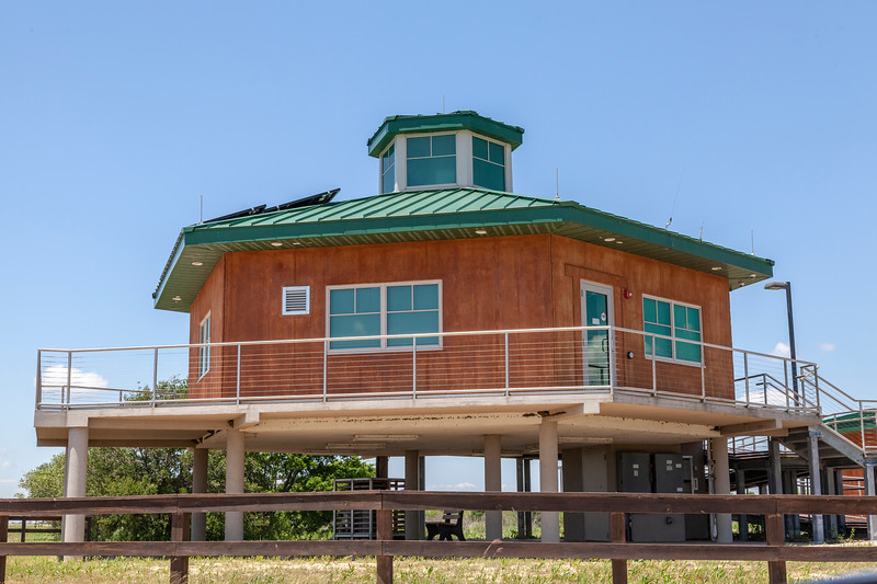 Visitor Center area at Anahuac National Wildlife Refuge in Southeastern Texas.