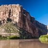 Santa Elena Canyon on the Rio Grande River in Big Bend National Park.