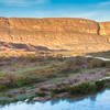 Early Morning Light over Rio Grande River at Santa Elena Canyon in Big Bend National Park.