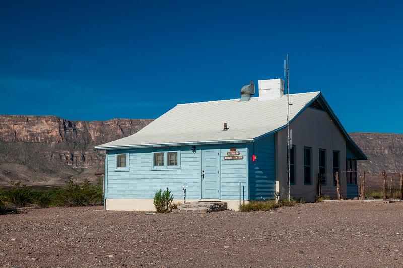 Castolon Ranger Station at Castolon Historic District in Big Bend National Park.