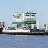 Ray Stoker Jr Galveston-Bolivar Ferry in Galveston Bay