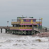 Fishing Pier on Seawall Blvd in Galveston JN094518