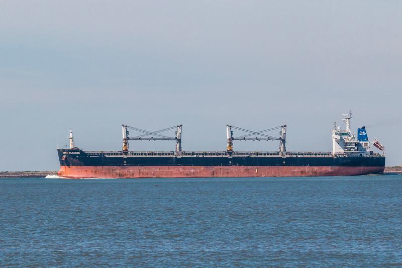 Tanker ship in Galveston Bay