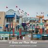 Galveston Pleasure Pier attraction on Seawall Blvd in Galveston.