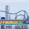Roller Coaster at Galveston Bay JN073395