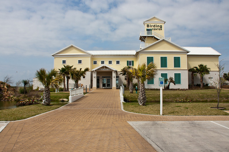 South Padre Island Birding and Nature Center on South Padre Island, Texas.
