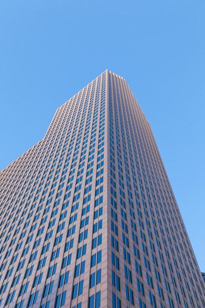 Bank of American skyscraper in downtown Houston