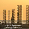 Sunset on Galveston Harbor