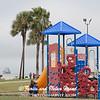 Children's playground at Seawolf Park on Pelican Island, Galveston.