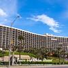 San Luis Resort and Convention District on Galveston Seawall Boulevard in Galveston, Texas.
