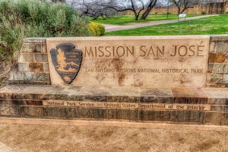 San Antonio Mission Trail - Mission San Jose y San Miguel de Aguayo