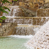 Waterfalls and Rock Gardens at HemisFair Park in San Antonio.