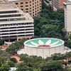 View from the Tower of the Americas in San Antonio.