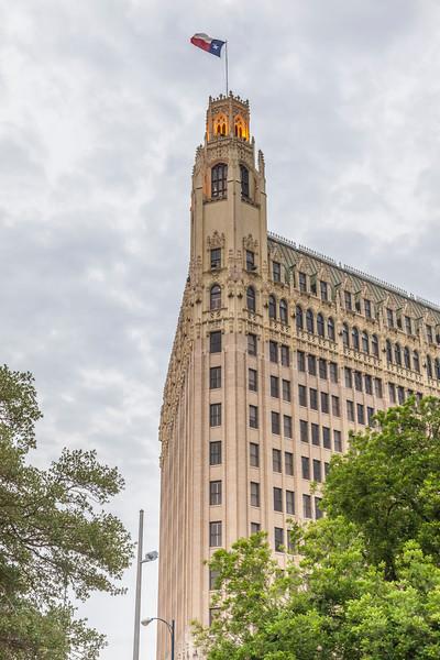 Emily Morgan historic hotel in San Antonio.
