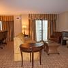 Luxury suite in Embassy Suites Hotel on San Antonio Riverwalk.