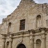 The Alamo, site of the famous Texas battle for independence from Mexico, in San Antonio.