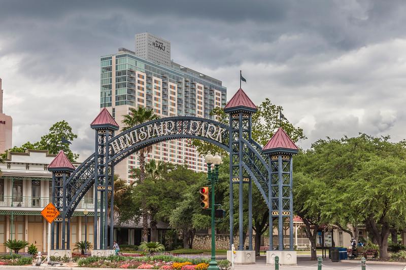 HemisFair Park in San Antonio.