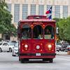 Trolley Tour bus in San Antonio