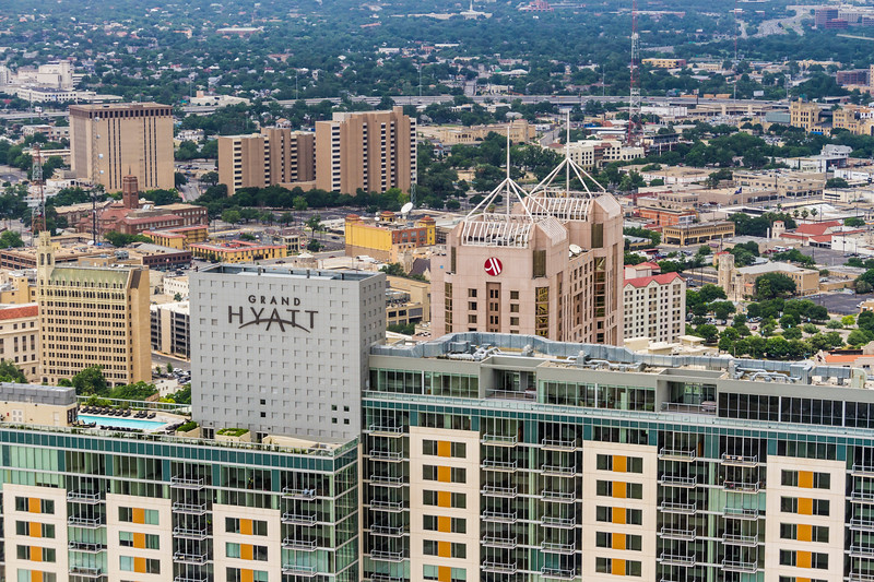 View of San Antonio from the Tower of the Americas