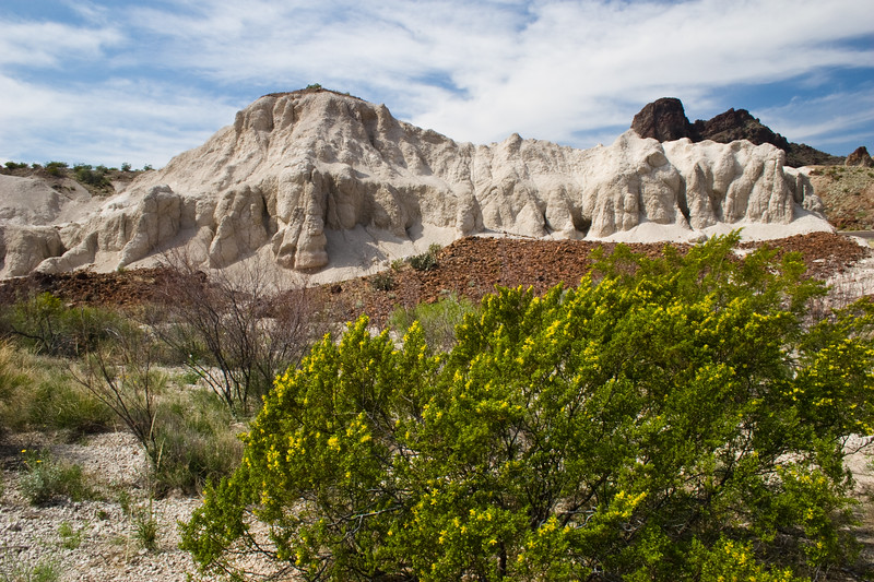 Volcanic Ash Mountains found in Big Bend National Park
