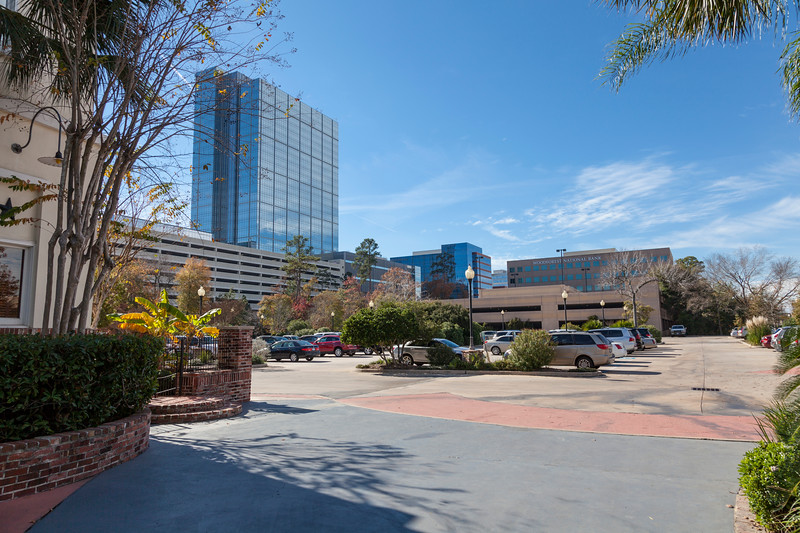 The Woodlands Town Center business district.
