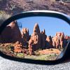 Mirror Reflection in Arches National Park, Utah.
