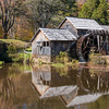 Historic Mabry Mill on Blue Ridge Parkway in Virginia.
