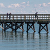 Fishing pier at Yorktown, Virginia.