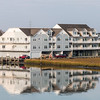 Resort lodging on Chincoteague Island on the Eastern Shore of Virginia.