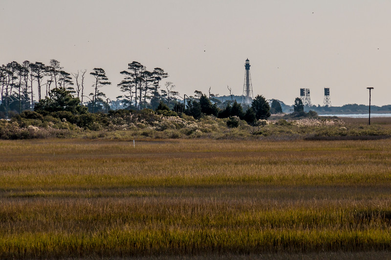 Cape Charles Light on the Eastern Shore of Virginia.
