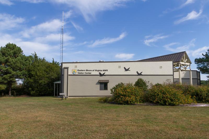 Visitor center at Eastern Shore of Virginia National Wildife Refuge.
