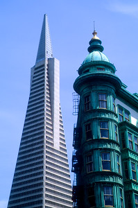 Transamerica Building and Columbus Tower