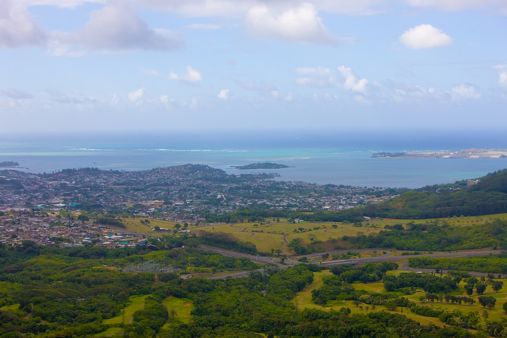 View from Nu'uano Pali lookout