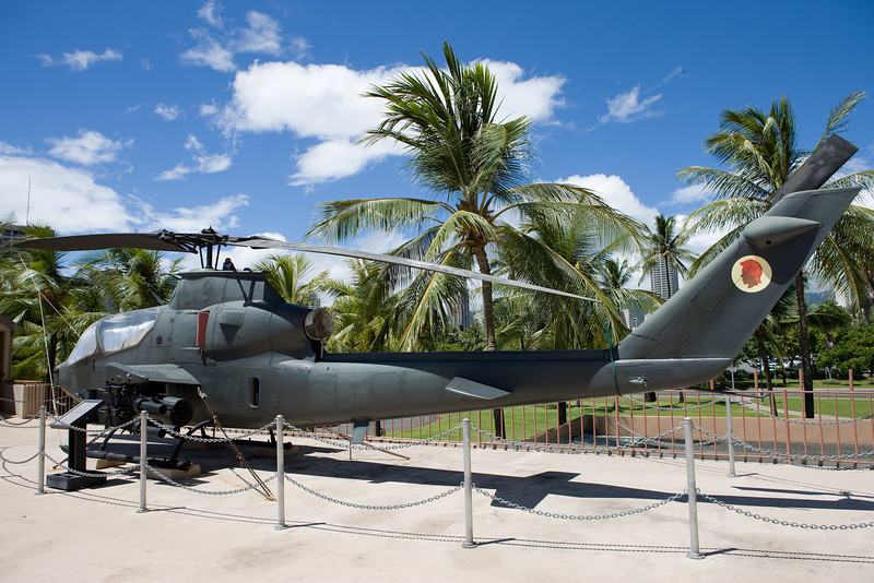 AH1S Apache attack helicopter