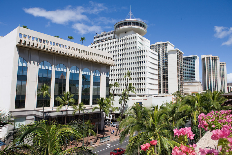 Top of Waikiki revolving restaurant, Kalakaua Av.,Honolulu