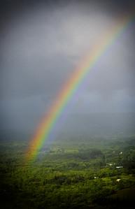 Rainbow over Hilo