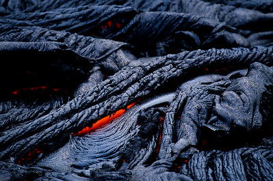 Rope Lava Flow from Kilauea