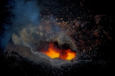 Crater of Kilauea Volcano