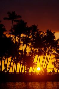Sunset at Mauna Lani Point