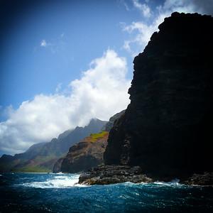 Rugged Na Pali Coastline