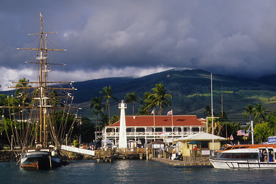 Carthaginian Ship, Lahaina Harbor