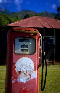 Deserted Gas Pump