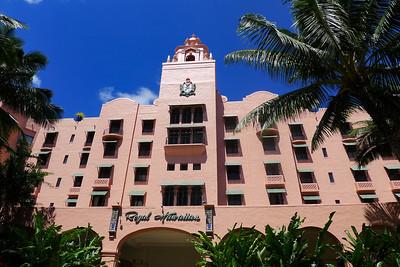 Royal Hawaiian Hotel, the Pink Palace